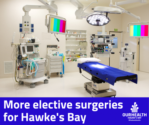 More elective surgeries for Hawkes Bay