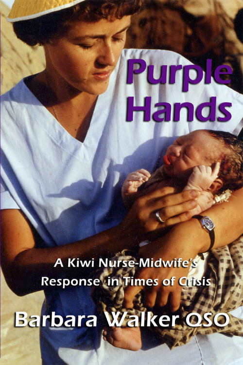 Purple Hands book cover pic