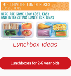 NHF lunchboxes for 2 6 yo