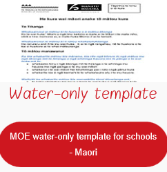 NHF water only template Te Reo
